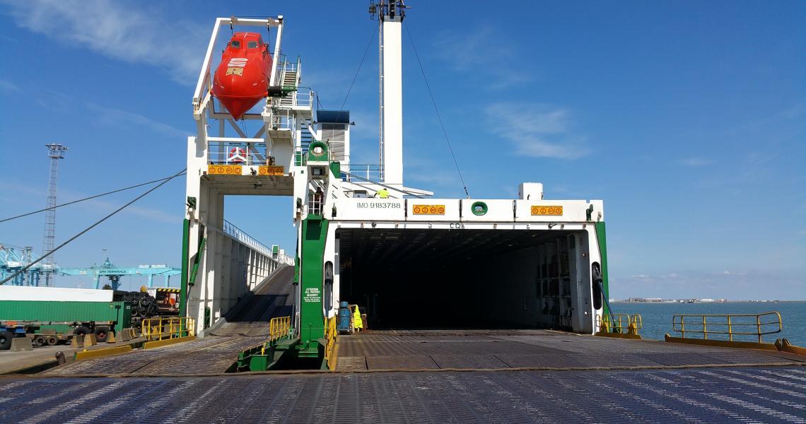 Mistral i hamn