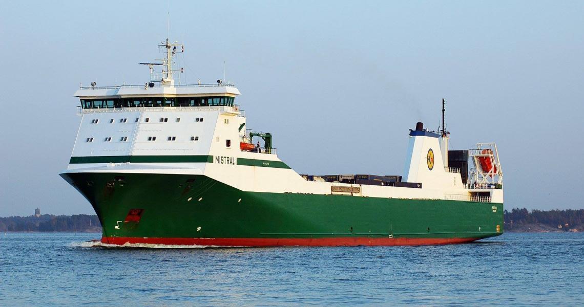 Mistral at sea