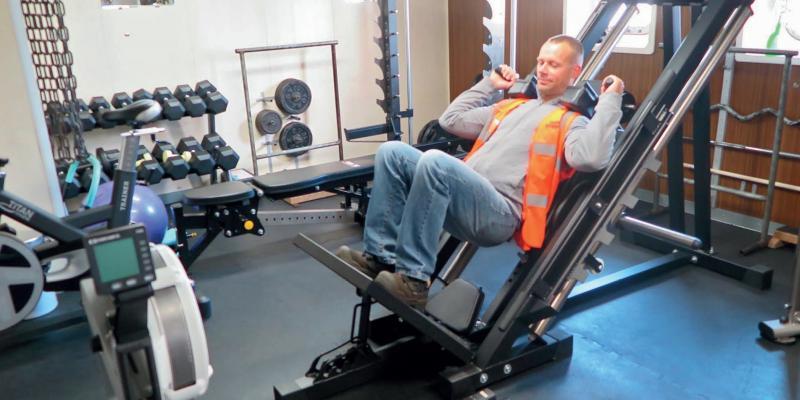 Damian Gawlowski gym
