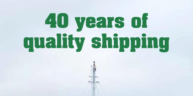 Godby Shipping - 40 years of quality shipping EN