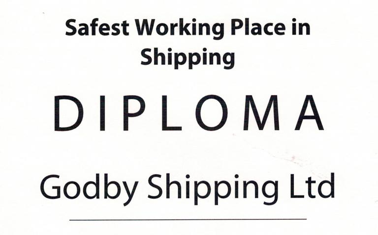 Safest Working Place in Shipping 2015